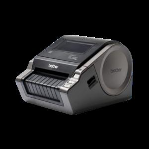 BROTHER Cimkenyomtató QL-1050, asztali, thermál, 69 címke/perc, 110mm/mp, USB/soros, 300dpi, 4MB, LED kijlező, DK címke