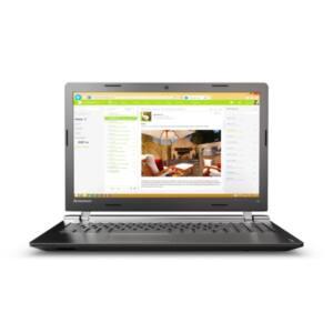 """LENOVO IdeaPad 100-15IBD, 15.6"""" HD, Intel Core i3-5005U, 4GB, 1TB HDD, DVD RW, DOS, Black"""